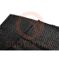 Buy cheap Black Roll Ground Stabilization Fabric , Lightweight Woven Geotextile Membrane product
