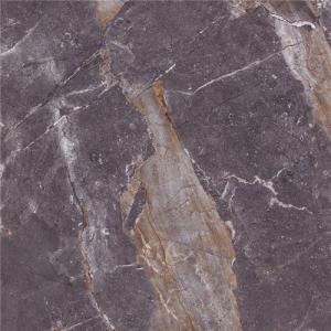 China 6x6 Floor & Wall Purple Polished Porcelain Tile on sale