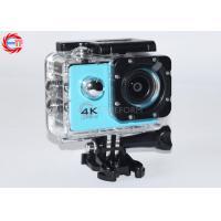 Blue Full HD Sport Camera Waterproof 4k