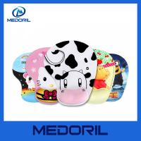 Buy cheap Custom full color printing soft silicone gel wrist rest mouse pad for promotion from wholesalers