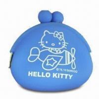 Buy cheap Silicone Coin Purse for Women/Children, Easy-to-carry, Water-resistant, Eco-friendly, Fashion Design product