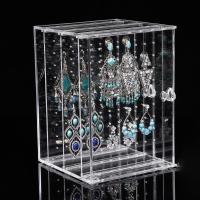 Quality Transparent  Acrylic Jewelry Display Acrylic Jewelry Holder Customized Size for sale