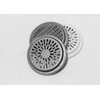 Buy cheap Custom shallow stainless steel components drawings stamping parts speaker mesh shell from wholesalers