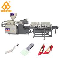 Buy cheap PP Insole Making Rotary Injection Molding Machine 200-280 Pairs Per Hour from wholesalers
