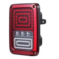 Buy cheap Back Up LED Tail Lights Shock Resistant Clear PC Cover Durable Black ABS Housing from wholesalers