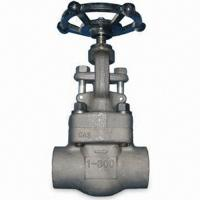 Buy cheap Durable Forged Steel Valve Globe Valve Renewable & Integral Seat Rings Welded Bonnet from wholesalers