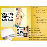 Buy cheap Meiqing Temporary Inkjet Tattoo Paper/tattoo decal paper/DIY/A4/Made in China from wholesalers