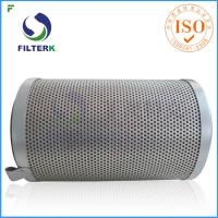 Buy cheap Fiberglass Oil Mist Filter Element OM / 120 Model For Centrifugal Air Compressor from wholesalers