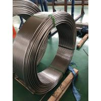 Buy cheap Welded Stainless Steel Coil Tubing ASTM A249 269 Standard For Boiler And Condenser from wholesalers