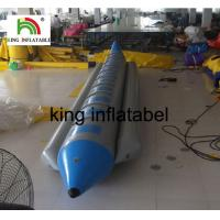 Buy cheap Exciting Water Games Inflatable Fly Fishing Boat / Inflatable Banana Boat For 10 Persons from wholesalers