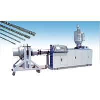 Buy cheap single screw and barrel for plastic extruder machine from wholesalers