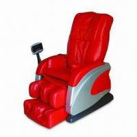 Buy cheap Massage Chair with MP3 Player, Double Pumps and 26 Airbags, Fixed Point Massage from wholesalers
