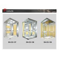 Buy cheap Customized Ceiling And Floor Stainless Steel Frame Mirror Middle Panel from wholesalers