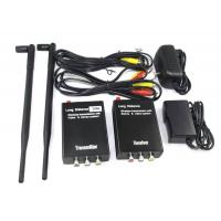 Buy cheap 3W long distance av audio video transmitter and receiver from wholesalers