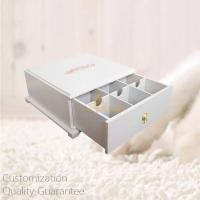 Buy cheap Custom Wooden Tea Bags Display Storage Gift Box with Printed Personal Logo, Pull Out Drawer. Small Order. product