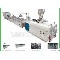 Buy cheap Twin Screw Plastic WPC Extrusion Line 240 Series For PE / Wood Floor Board from wholesalers