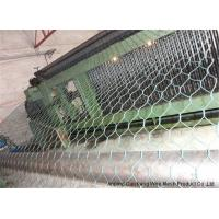 Buy cheap Galvanized Chicken / Rabbit Hexagonal Wire Netting 10m-50m With Weaving Technique from wholesalers