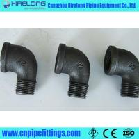 Buy cheap Dimemsion ISO49 Black malleable iron pipe fittings from wholesalers