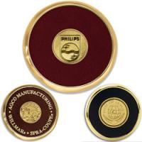 Buy cheap Round Brass Coaster from wholesalers
