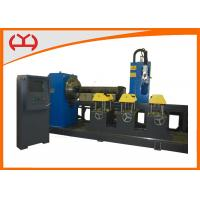 Buy cheap ISO CNC Plasma Cutting Machine Pipe Intersection Cutting Machine With 3D Pipe Nesting from wholesalers
