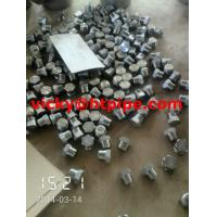 Buy cheap duplex stainless ASTM A182 F55 bull plug from wholesalers