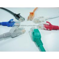 Buy cheap Plenum Category Cat6 Patch Cables Cat6 Ethernet Cables 24Awg Twisted from wholesalers