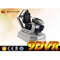 Quality Commercial Indoor Car Racing VR 9D Simulator For Amusement Park SGS Approval for sale