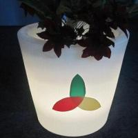 Buy cheap Flower Pot with Light/Plastic Furniture/LED Furniture from wholesalers