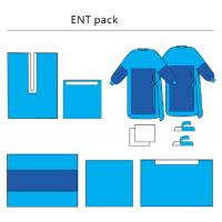 Buy cheap Sterile ENT Set Health Care Customized, Non - Woven Disposable Surgical Packs from wholesalers