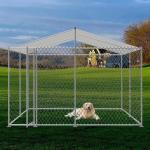 Buy cheap Easy Clean 2mm Hot Galvanized L4m Dog Cage Kennel from wholesalers
