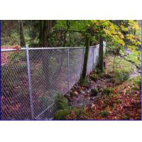 Buy cheap Multi Purpose Hurricane Chain Link Fence Zoo Wire Mesh Diamond Pattern from wholesalers