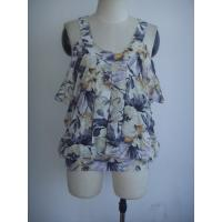 Buy cheap Polyester Printing Womens Custom Clothing Double Layer from wholesalers