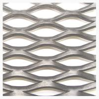 Buy cheap Raised Galvanized Sheet Steel Expanded Mesh Grating For Walkway Or Pedal product