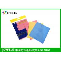 Buy cheap Blue Yellow White Nylon Scrub Pad , Cloth Scouring Pads For Dishes HK0610 from wholesalers