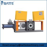 Buy cheap Double Piston Backflush Screen Changer with 4 Screen Cavities for Twin Screw Extruder from wholesalers