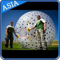 Buy cheap Inflatable Color Dots Aqua Zorbing Ball Played On Grassland / Water from wholesalers