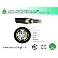 Buy cheap All Dielectric Self Supported 2PE Sheath Optical Cable ADSS product