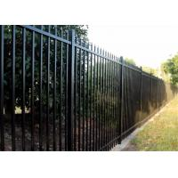 Buy cheap Steel Spear Top Garrison Fence For Sale Brisbane from wholesalers