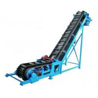 Buy cheap Powered Flat Belt Conveyor Systems Heat Resistant , Coal / Food Building Modular Belt Conveyor from wholesalers