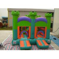 Buy cheap Oxford Fabric Inflatable Commercial Bounce Houses With Slide For Kids from wholesalers