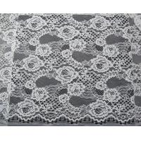 Buy cheap Coloured Unusual Corded Guipure Embroidery Lace Fabric For Dressmaking from wholesalers