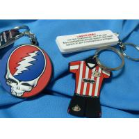 Buy cheap Festival Fashion Design Custom Imprinted Promotional Items Silicone Souvenir Keychain from wholesalers