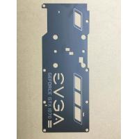 Buy cheap Stamping Mold for part made by 2mm thick SPCC material with custom laser engraving letters from wholesalers