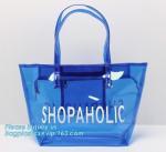 Buy cheap Eco friendly PVC zipper bag/pvc clear bag/PVC handle bag, Clear PVC handle bag, Clear plastic carrier bag, Superior qual from wholesalers