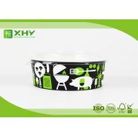 Buy cheap Custom Logo Printed Disposable Salad Paper Bowls with Clear Lids from wholesalers