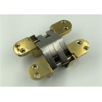 Buy cheap Gold 180 Degree Concealed Hinge / Industrial Concealed Cabinet Hinges from wholesalers