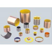 Buy cheap Yellow POM Boundary Lubricating Bearings DX Bushing , Sliding Bearing Self Lubricating Bushing from wholesalers
