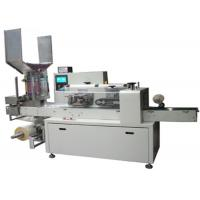 Buy cheap PLC Control Horizontal Flow Wrap Packing Machine Paper Straw Automatic Wrapping Machine from wholesalers