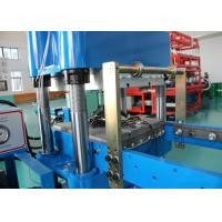 Buy cheap Double Work Station Plate Vulcanizing Machine / Car Bumper Making Rubber Moulding Machine from wholesalers