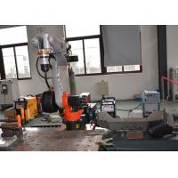 Buy cheap Industrial Mig Mag CO2 Welding Robot Arm for Steel Cabinet Box from wholesalers